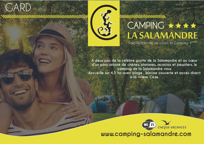 brochure camping salamandre