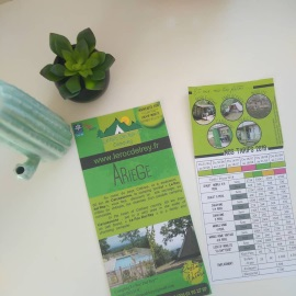 flyers et brochures