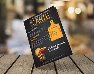 carte de restaurant_mes réalisations